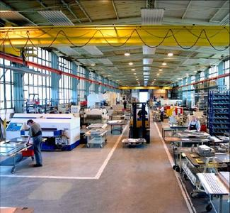 New flow principle in the pre-fabrication area at Baltic Metalltechnik