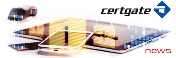 Smartcard-based security from certgate also available for the new BlackBerry® 10 OS