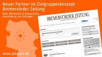 Jobware und Bremervörder Zeitung kooperieren im Stellenmarkt.