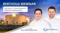 """Webinar """"Rod Sources – A Game Changer for Radiometric Measurements?"""""""