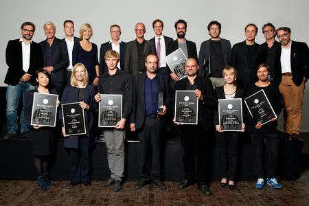 """Der Caparol-Architekturpreis """"Farbe – Struktur – Oberfläche"""" wurde am 26. September auf der Darmstädter Mathildenhöhe verliehen, Foto: Caparol Farben Lacke Bautenschutz"""