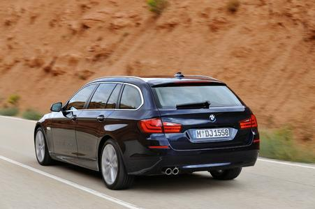 The new BMW 5 Series Touring 01