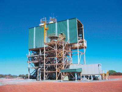 Plutonic Gold Mine, West Australia