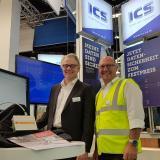 Martin Zappe und Jens Bußjäger auf der itsa18Martin Zappe (re.) und Jens Bußjäger von Achtwerk GmbH & Co. KG im Gespräch über das IT-Sicherheitsprodukt IRMA
