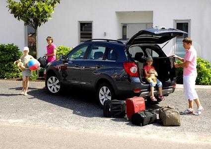 Urlaubsgepäck sicher verstauen