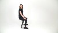 Chairless Chair 2.0 - sitzend