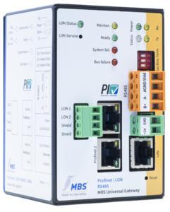 MBS multi Gateway PROFINET+LON