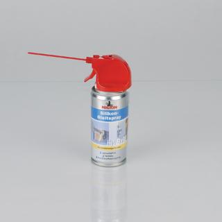 Ohne lästigen Geruch schmiert HyBrid Silikon-Gleitspray ölgleich Türen, Schubladen und Rollläden. Das Spray ist harz- und säurefrei und greift weder Kunststoffe noch Holz, Gummi oder Metall an.