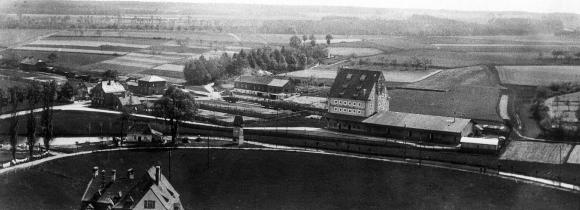 Herzogenaurach in the 1940s – this site would later become home to Schaeffler's main location / Images: Schaeffler