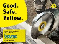 Bauma is turning yellow