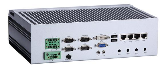 Axiomteks tBOX330-870-FL IEC-60945-zertifiziertes lüfterloses Embedded System mit Intel® Core™ Prozessor