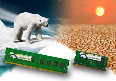 DDR4 DRAM modules of the CIR series for industrial computers