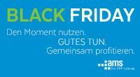 "ams.Solution macht ""Black Friday"" Green"