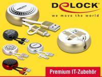 Premium und praktisch: USB Aufrollkabel von Delock