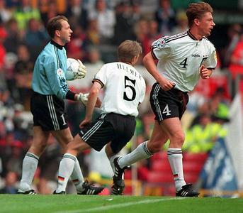Steffen Freund, ebenfalls Europameister 1996, machte insgesamt 21 Spiele für die deutsche Nationalmannschaft