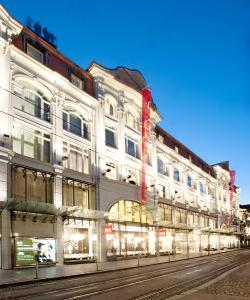 Inmitten der Grazer Altstadt befindet sich das Kastner & Öhler Stammhaus. Copyright-Angabe: Kastner & Öhler © Bernd-Kammerer