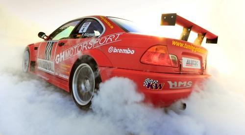 Drift-Fahrer Ritzmann fährt auf zweiten Platz der Internationalen DriftSerie