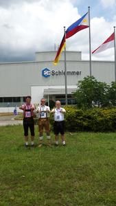Plant opening in traditional Bavarian dress
