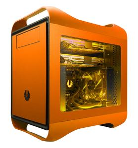 BitFenix Prodigy M Window Seitenteil - orange