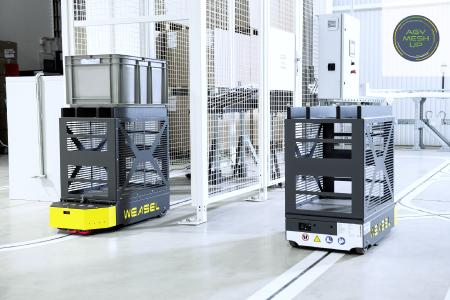 The AGV WEASEL® can be integrated into different levels of the supply chain thanks to its interface VDA 5050