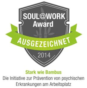 Soul@Work Award 2014