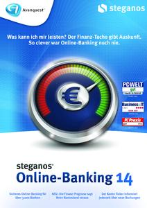 Nomniert für die Software des Jahres: Steganos Online-Banking 14