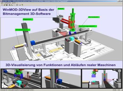 Machinery Industry increasingly using 3D visualization of CAD Data