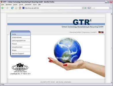 Hompage GTR² GmbH