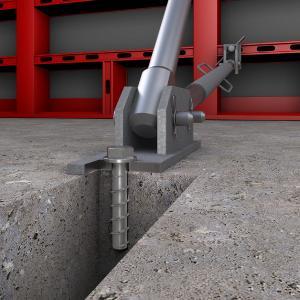 Die optimierte Gewinde- und Spitzengeometrie der Betonschraube JC 2 Plus sorgt für höhere Tragfähigkeitswerte und eine einfache Montage.