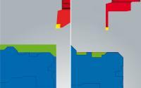 Fräsdrehen: automatisches Aufteilen von Konturfeatures für eine vereinfachte Programmierung  (Quelle: OPEN MIND)