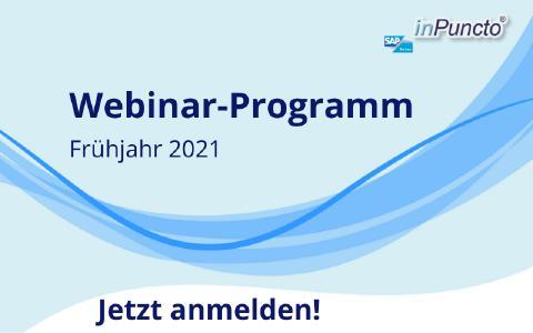 Kostenlose Webinare zu SAP Add-ons - Frühjahr 2021