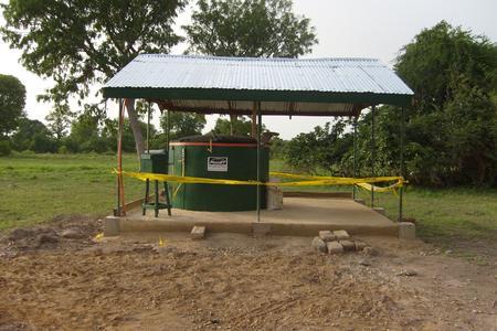 Die PlanET Mini-Biogasanlage wird zukünftig die Missionsstation in Busunu mit Kochgas versorgen.