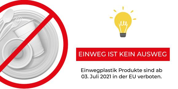 Einwegplastik Verbot