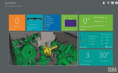 Mit einem Scan können gleich mehrere Bauteile erfasst und nacheinander abgegriffen werden, um die Zykluszeiten noch weiter zu verkürzen.