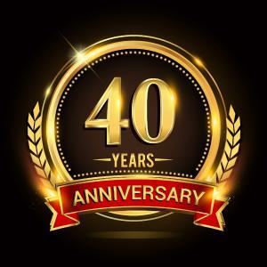 40th aniversary