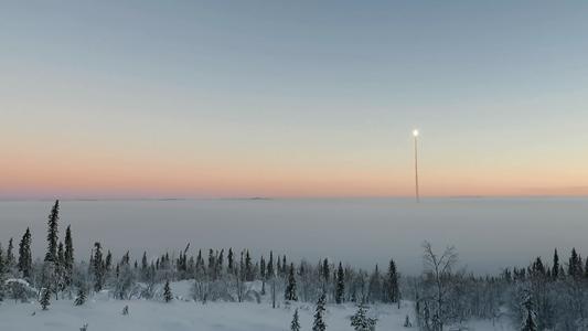 Start von TEXUS 53 am 23. Januar 2016 um 9:30 Uhr MEZ vom Raumfahrtzentrum Esrange bei Kiruna in Nordschweden. Die Forschungsrakete des Deutschen Zentrums für Luft- und Raumfahrt (DLR) trug u.a. ein Kristallzüchtungsexperiment des Fraunhofer IISB (Erlangen) in den Weltraum. Nach der erfolgreichen Mission brachte ein Fallschirm die Nutzlasten wieder zurück zum Boden. Bild: DLR