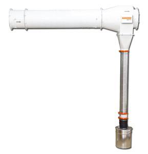 Der Funkenvorabscheider SparkTRAP schützt vor Filterbränden.