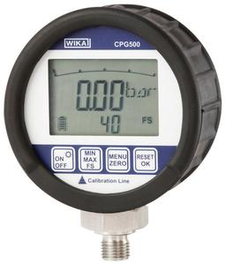 Digital pressure gauge CPG500 (Photo: WIKA Alexander Wiegand SE & Co. KG)