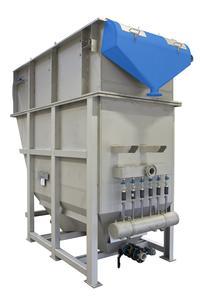 Flomar Flotationsanlage zur Behandlung von Abwässern aus Lederindustrie und Gerbereien