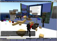 Teilnehmer blendedPLUS in Second Life
