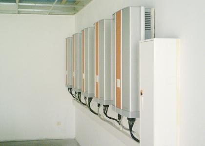 Delta TL Solar Inverters in K-W-H Energy Office