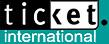 ticket. International logo