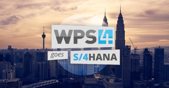 WPS4 goes SAP S/4HANA