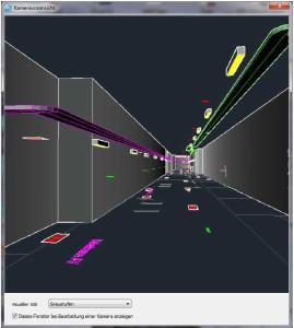 Auszüge aus einem Projekt:  Medientunnel in einem Krankenhaus (hier nur Elektrotechnik dargestellt)