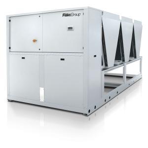 Kaltwassererzeuger mit ErP-2021-konforme Geräteserie mit Niedrig-GWP Kältemittel R-454B (GWP 466)