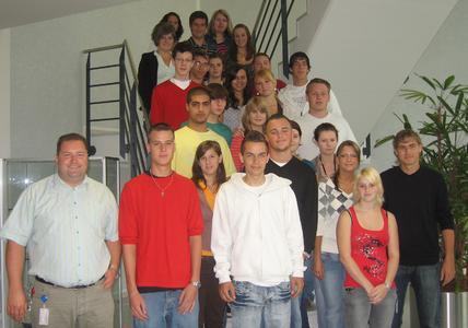 """Die neuen """"Ingramer"""" in Straubing freuen sich auf ihre Ausbildungszeit"""