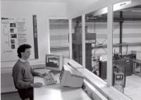 Die Anfänge: In der CIM-Fabrik wurde erforscht, wie Computer in die Produktion integriert werden können. (Quelle: IPH)