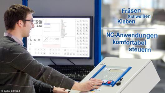 Mit der Windows-Software Xemo NC wird Systecs Xemo-Steuerung mit den einbaufertigen Positioniersystemen zur komfortablen CNC-Applikation (Foto: Systec Elektronik und Software GmbH)