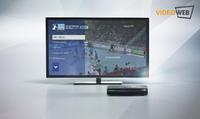 Die VideoWeb TV-Box liefert den Handball-Fans umfassende Videobeiträge rund um die DKB-Handball-Bundesliga direkt auf ihren Fernseher