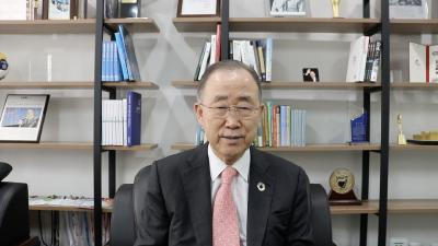 MCI online Sponsion mit Ban Ki Moon